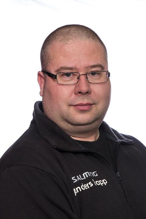 Fastighetsskötare Anders Trapp