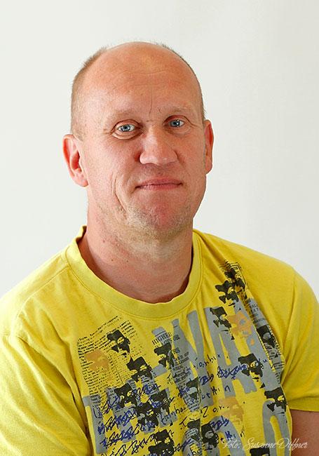 Fastighetsskötare Mikael Eriksson